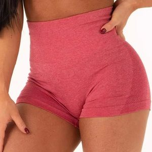 2FOR20 ‼️ seamless pink workout high waist shorts